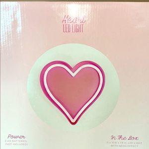 Heart Led Light (Room Decor)